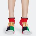Happy Socks Athletic Blocked Unisex Low Socks - Unisex  Κάλτσες
