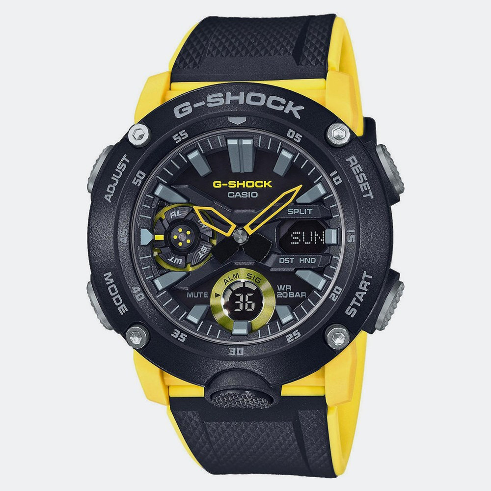 Casio G-Shock Carbon - Unisex Ρολόι Χειρός (9000031435_9541)