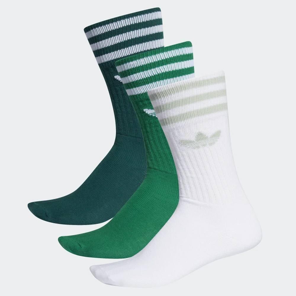 adidas Originals 3 Pairs Unisex Crew Socks - Unisex Κάλτσες (9000031748_39441)