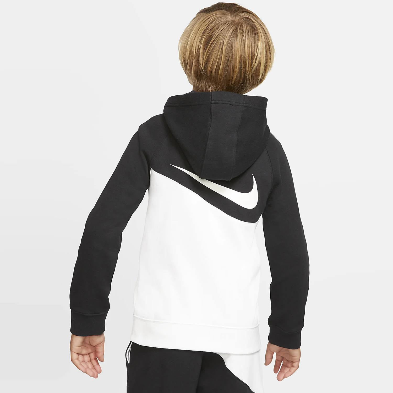 nike b nsw swoosh hoodie fz ft