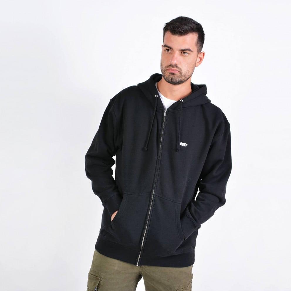 Obey Jumble Lo - Fi Basic Zip Hood FLeece