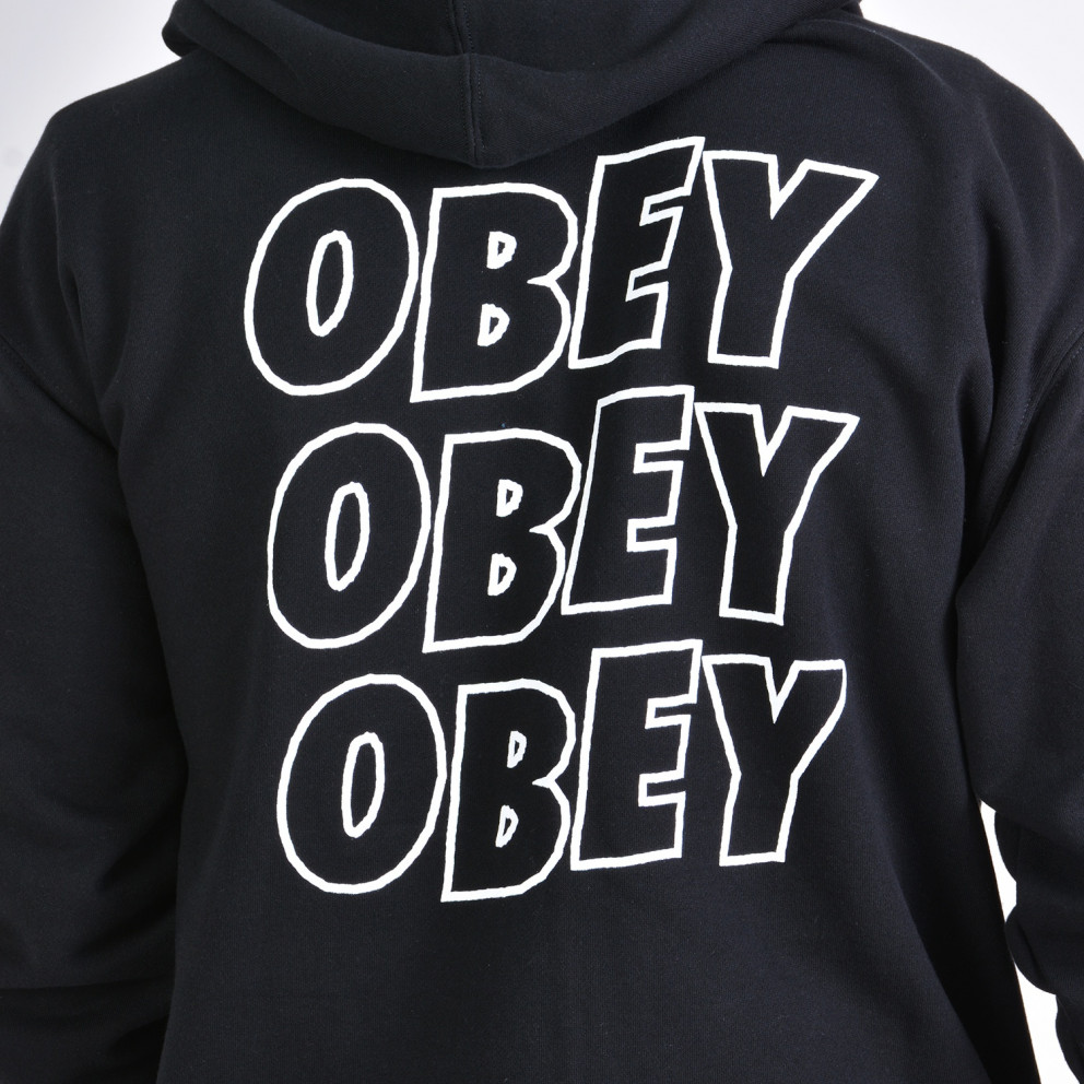 Obey JUMBLE LO - FI BASIC ZIP HOOD FLEECE