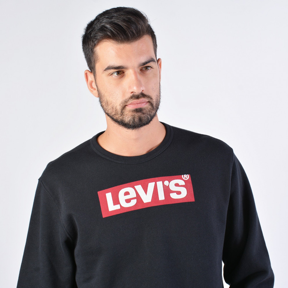 Levis Graphic Crew B Logo Ssnl Crew