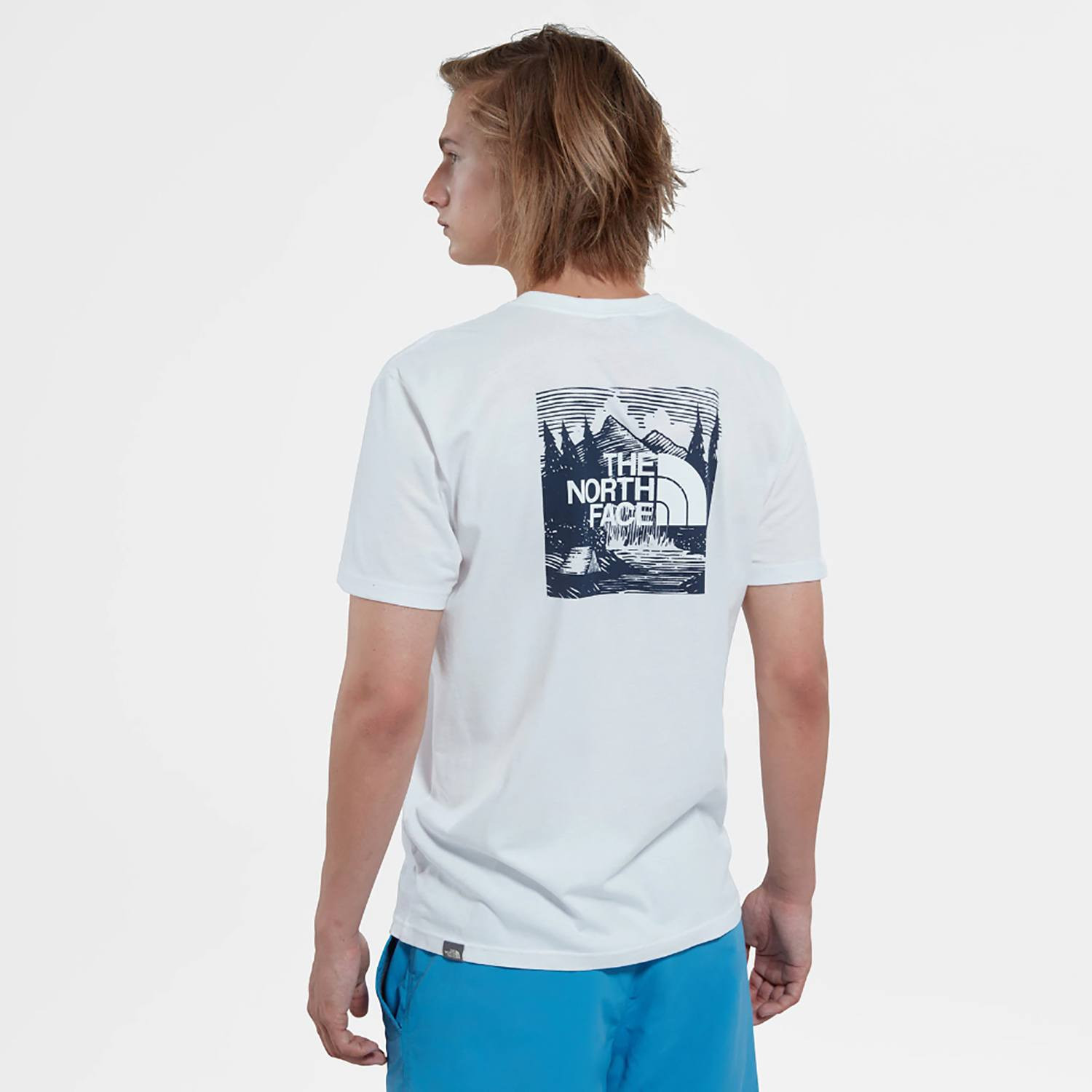 THE NORTH FACE M SS REDBOX CEL TEE (9000036586_26557)