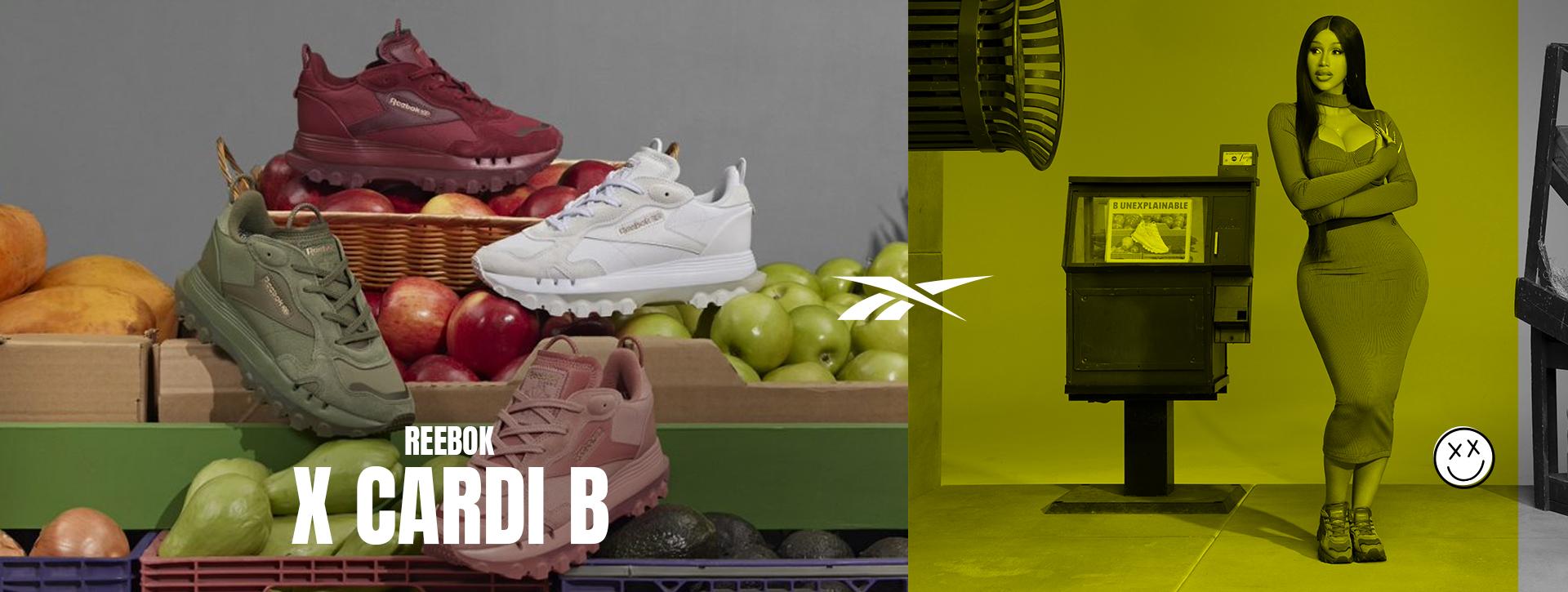 Reebok x Cardi B Collection